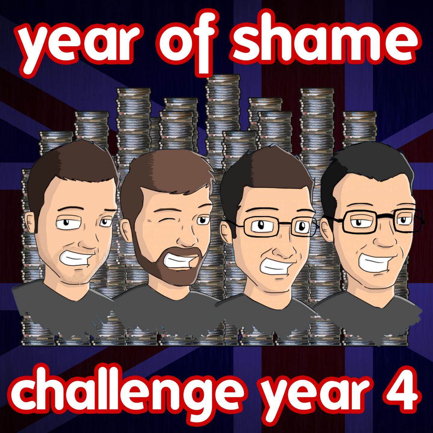 Year Of Shame Challenge 2016